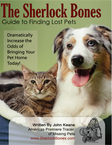 Sherlock Bones - The Definitive Guide To Finding Missing Pets